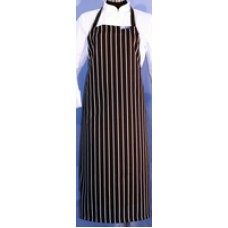 F&H Black & White Stripe Apron - XL