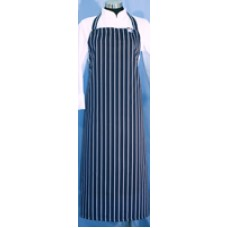 F&H Blue & White Stripe Apron - Large