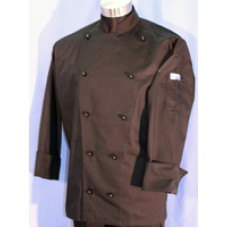 F&H Modern Chef Jacket - Black L/SLeeve