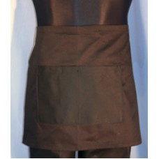 Black Half Waist Apron H/Weight