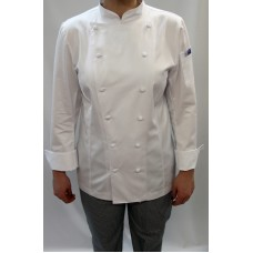 F&H Women's Classique Chef Cotton Jacket L/Sleeve