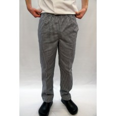 F&H Traditional Check Drawstring Trousers