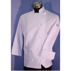 F&H Modern Chef Jacket - White L/SLeeve