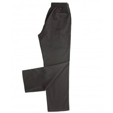 Uni-Standard Draw String Pants - Black