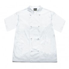 Uni-Standard Short Sleeve Chef Jacket White